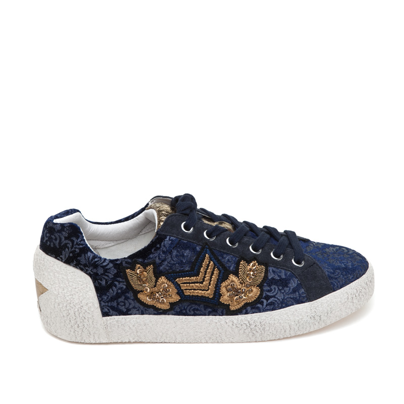 ASH Nak Arms Midnight Fabric Sneaker