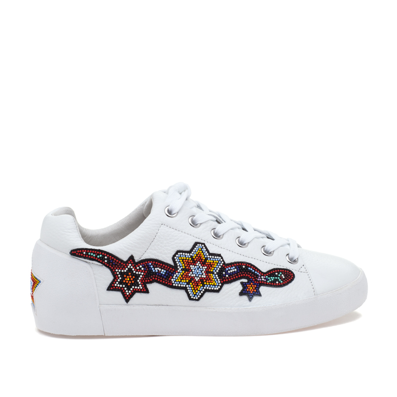 ASH Namaste White Leather Sneaker