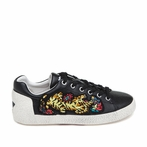best seller ASH Niagara Black Leather Sneaker