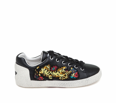ASH Niagara Black Leather Sneaker