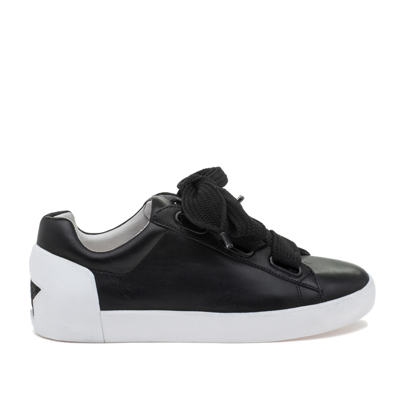 ASH Nina Black Leather Sneaker