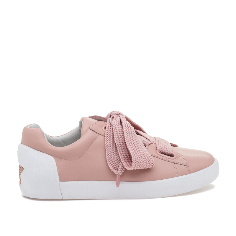 ASH Nina Nude Leather Sneaker