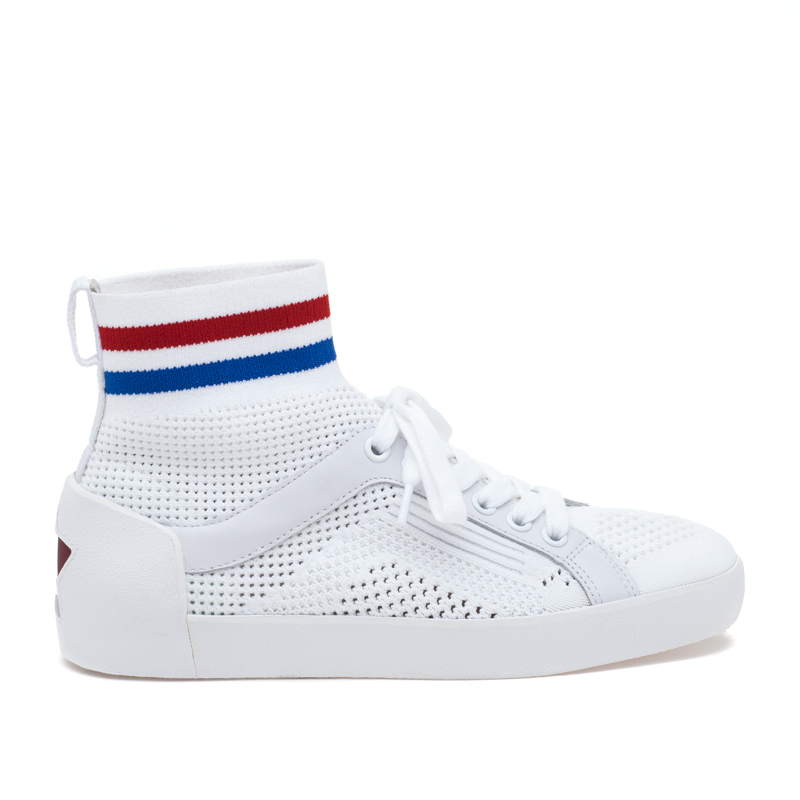 ASH Ninja White/Red/Blue Sneaker