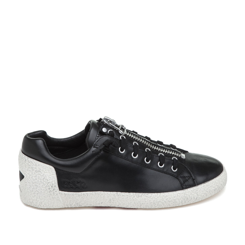 ASH Nirvana Black Leather Sneaker