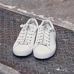 ASH Nirvana White Leather Sneaker