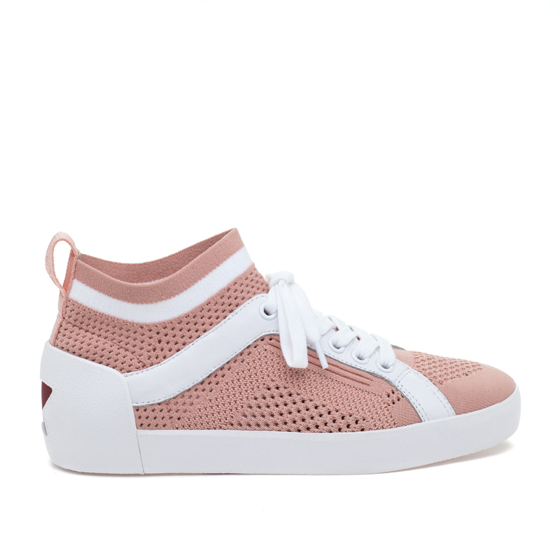 ASH Nolita Powder/White Sneaker