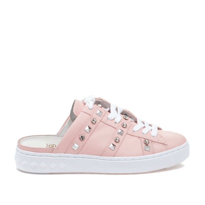 ASH Party Powder Leather Sneaker