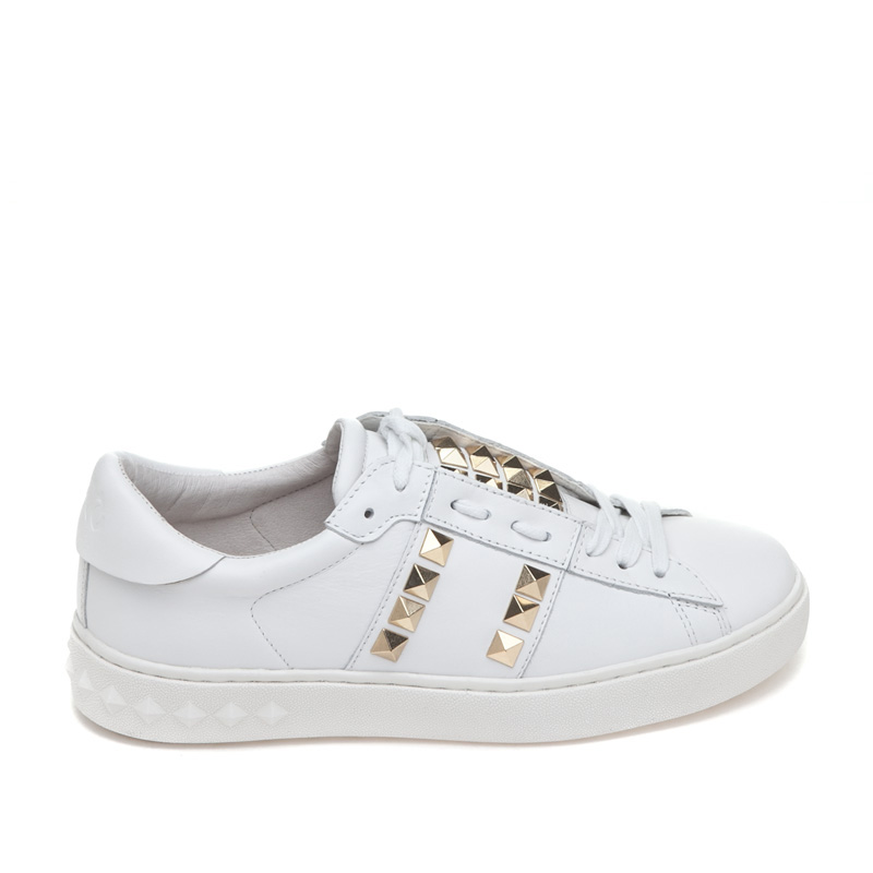 ASH Party White Leather Sneaker