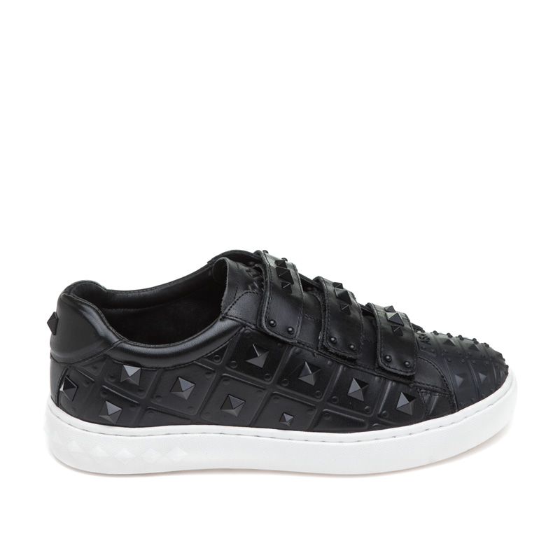 ASH Peace Black Leather Sneaker