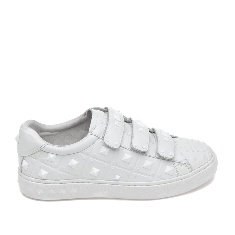 ASH Peace White Leather Sneaker
