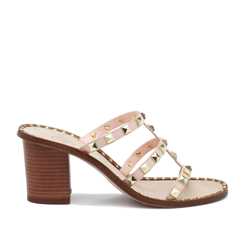 ASH Playa Powder Leather Sandal