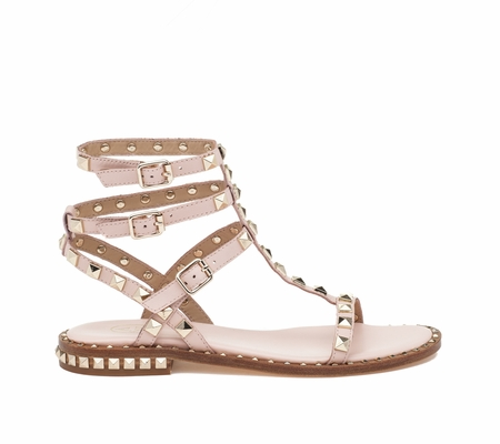 ASH Poison Powder Leather Sandal