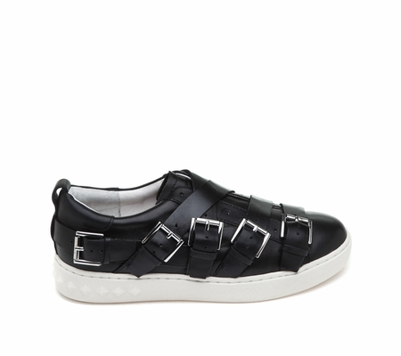 ASH Premium Black Leather Sneaker