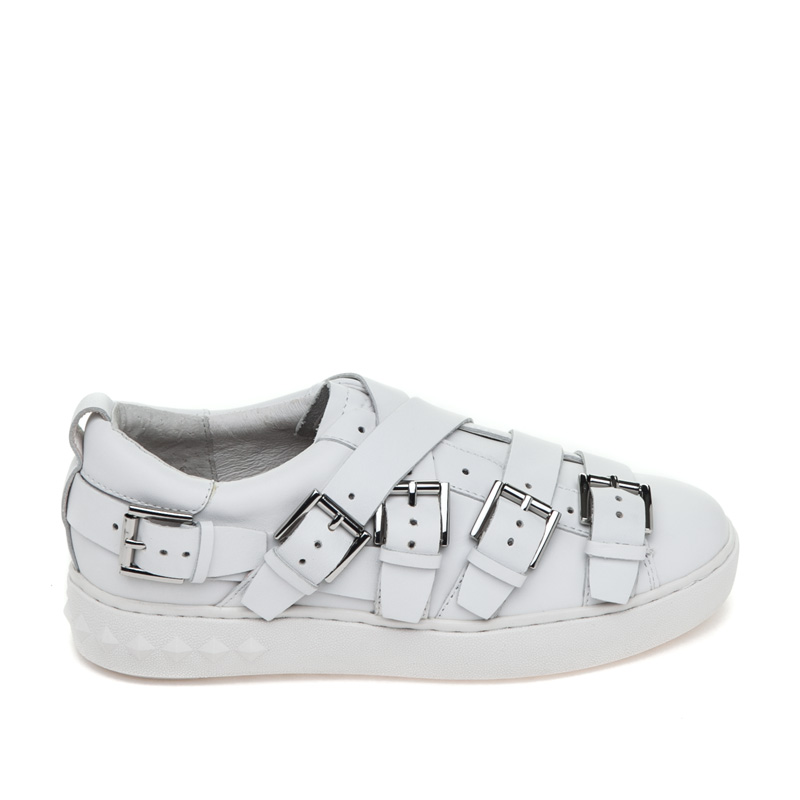 ASH Premium White Leather Sneaker