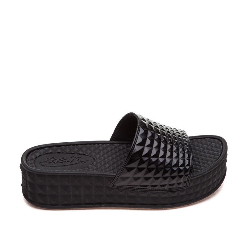 ASH Scream Black Sandal