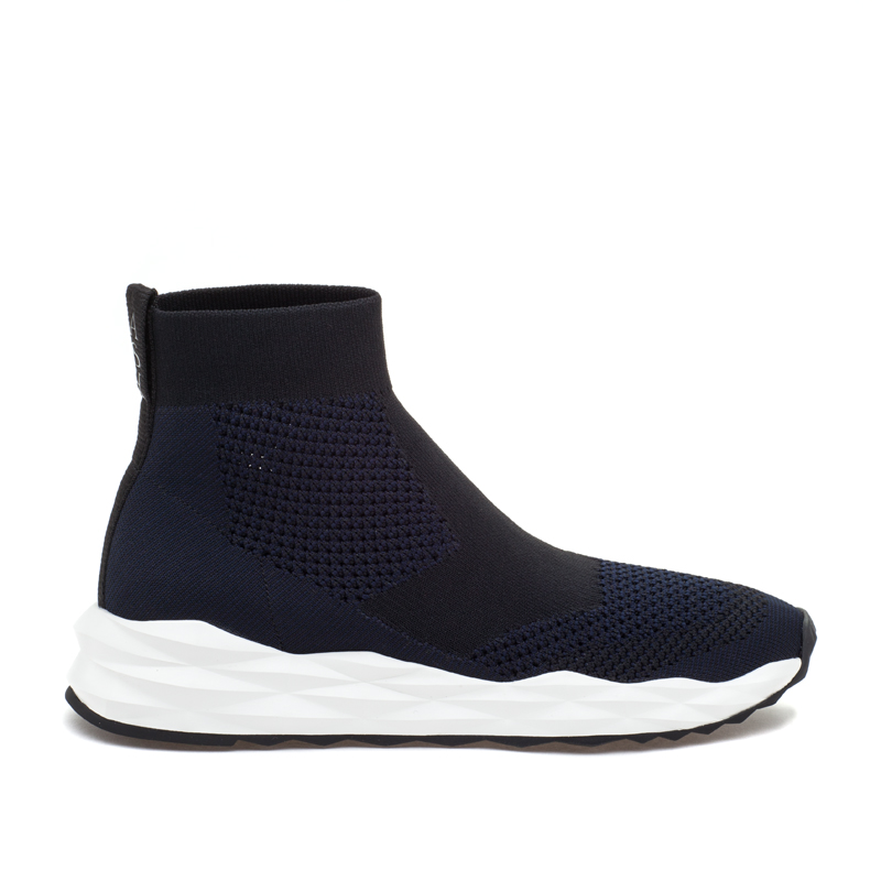 ASH Space Black/Midnight Knit Sneaker