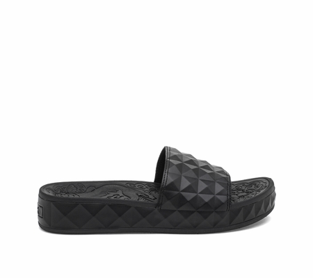 ASH Splash Black Sandal