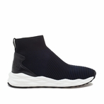 best seller ASH Spot Midnight Black Knit Sneaker
