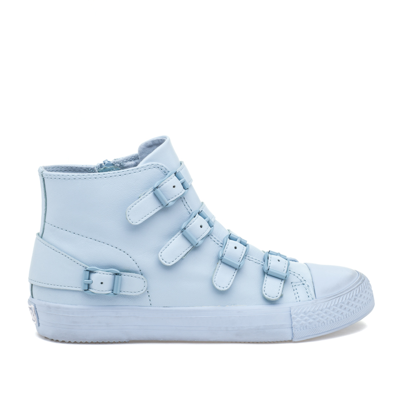 ASH Venus Ice Blue Leather Sneaker