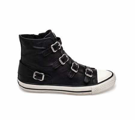 ASH Virgin Sneaker Black Nappa Leather 330053 (001)