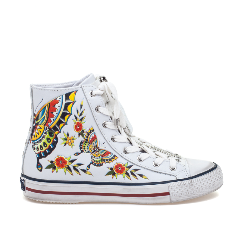 ASH Viva BIS White Leather Sneaker