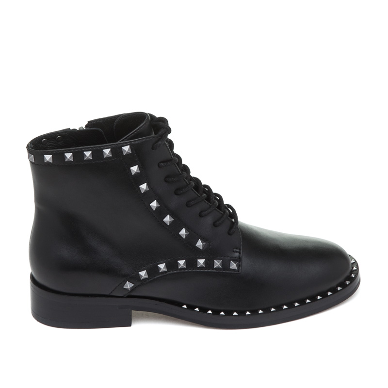 ASH Whynot Black Leather Boot