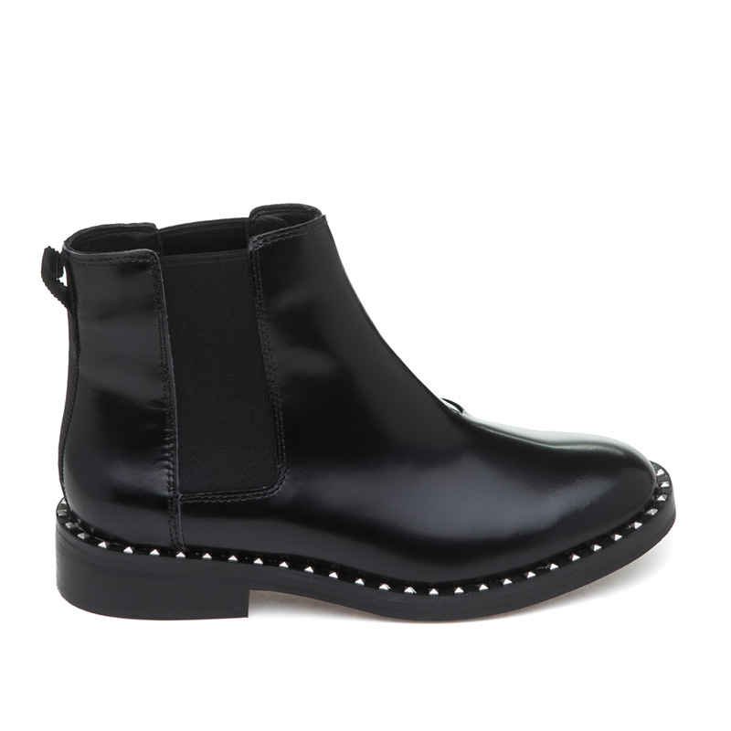 ASH Winona Boot Black Leather Boot