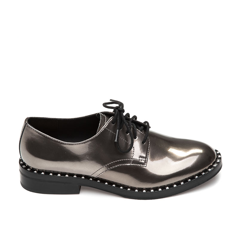 ASH Wonder Womens Oxford Cargo Metallic Leather 360285 (295)