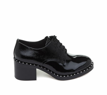 ASH Xenos Black Patent Leather Oxford