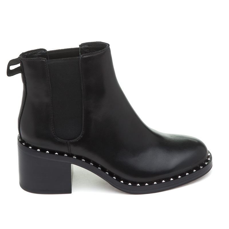 ASH Xox Black Leather Boot