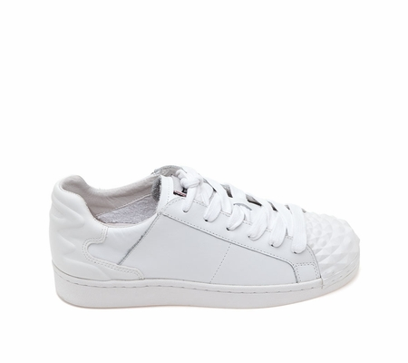 ASH Crack White Leather Sneaker