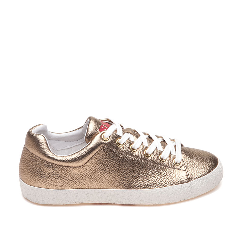 ASH Nicky Bis Gold Sneaker