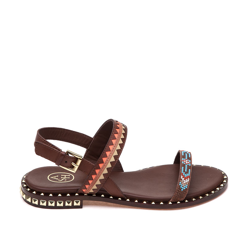 ASH Paco Cacao Multi Sandal
