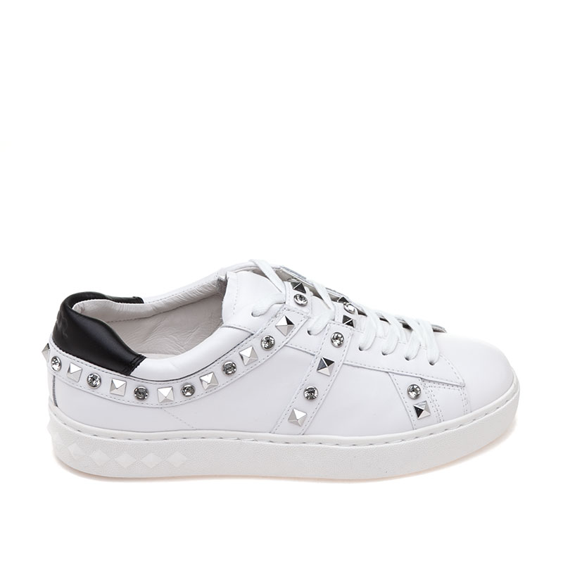 ASH Play White Leather Sneaker
