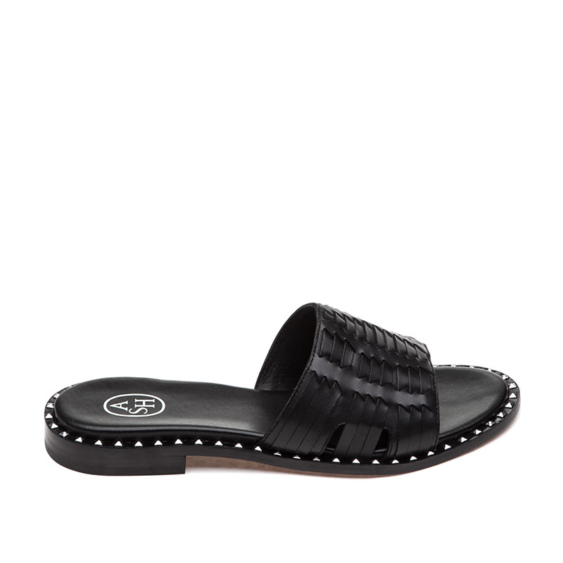 ASH Playa Black Sandal