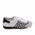 best seller ASH Scorpio Off White & Black Sneaker