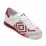 best seller ASH Scorpio Off White & Red Sneaker