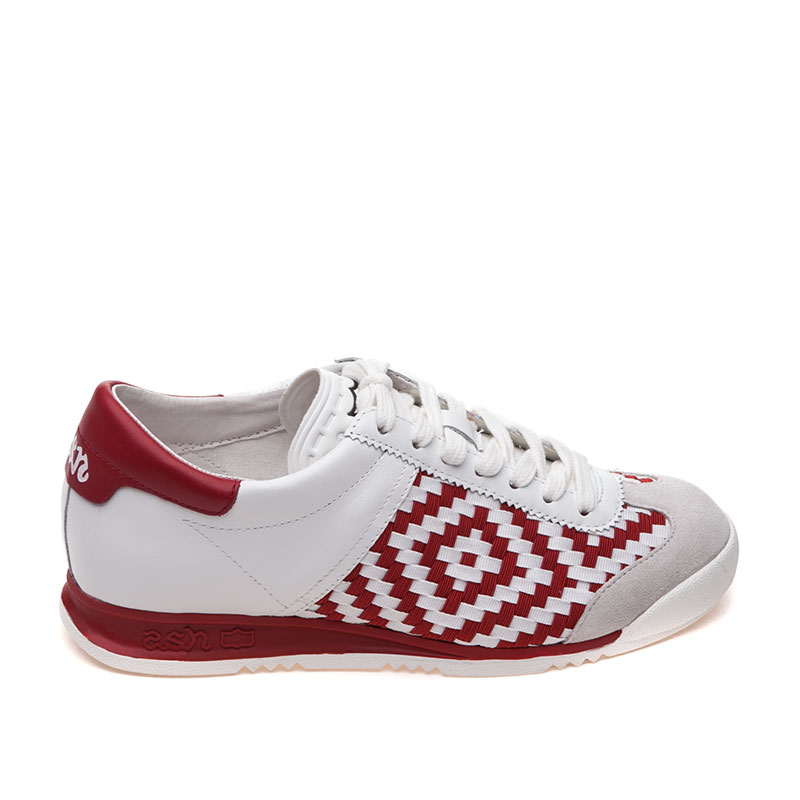 ASH Scorpio Off White & Red Sneaker