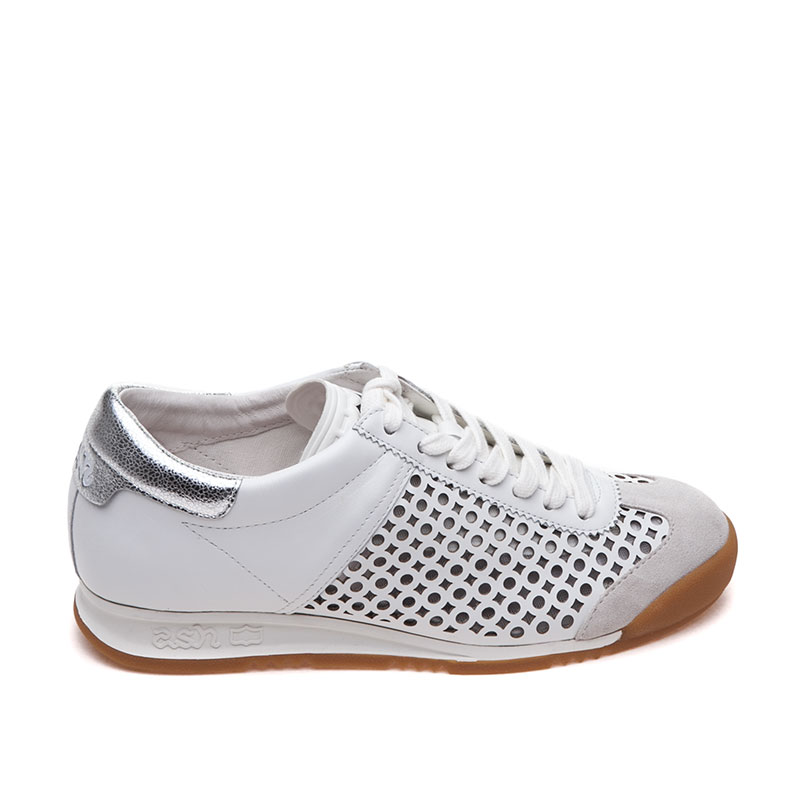 ASH Spin Off White Silver Sneaker