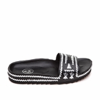 best seller ASH Ulla Black Silver Sandal