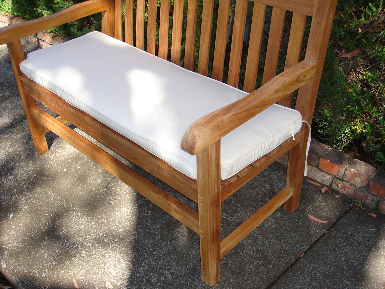 outdoor bench cushion 5 feet - Outdoor Bench Cushion