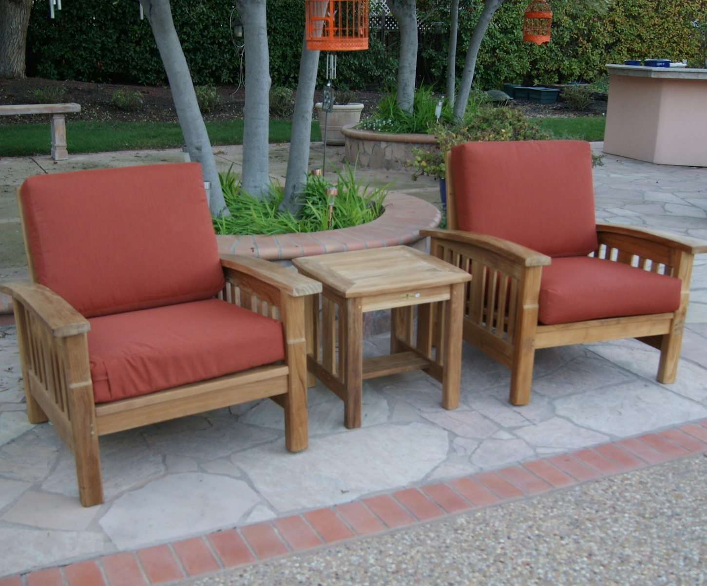 Mission Deep Seat Chair - Mission Style Deep Seating Set By Tomsoutdoorfurniture.com