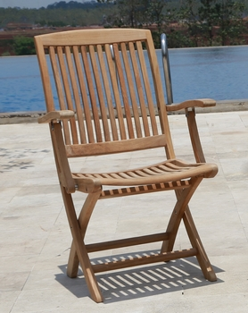 Cambria Folding Arm Chair