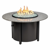 "Granite Round Fire Pit 42"" Dia With Pebble Top"