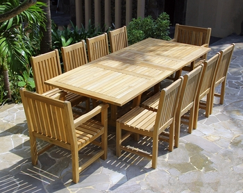 Classic Extension Table Set