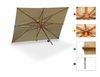 Commercial Rectangular Market Umbrella