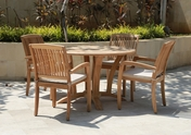 Daytona Teak Table Set 5Pc