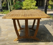 Deluxe Rect. Double Extension Table Xlarge