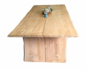 Live Edge Teak Table 8F