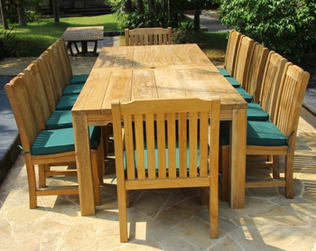 Luxor Teak Table Set